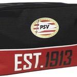PSV Toilettas psv zwart/rood: 30x18x10 cm