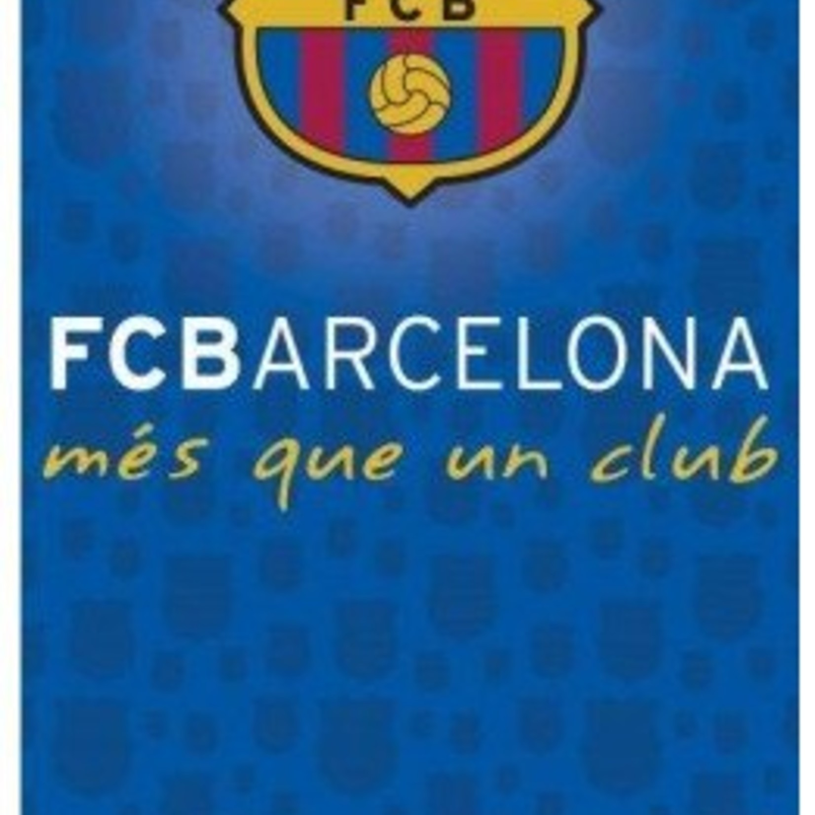 Badlaken barcelona Mes Que un Club: 70x140 cm