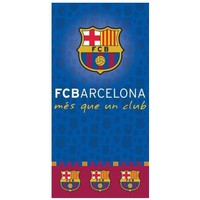 Badlaken barcelona Mes Que un Club : 70x140 cm