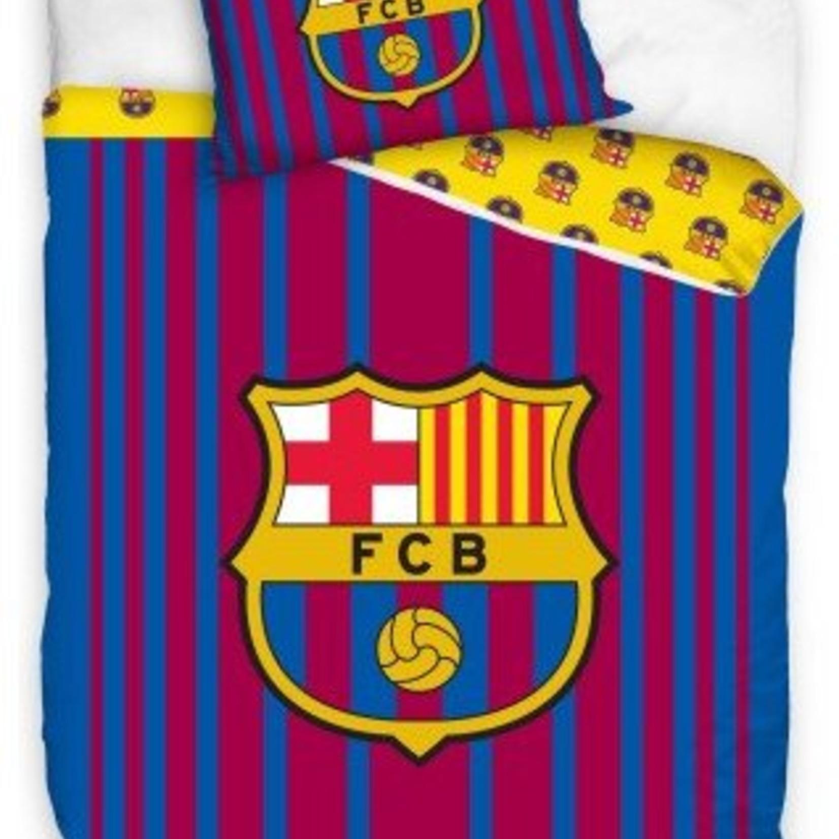 Dekbed barcelona stripes: 140x200/70x80 cm