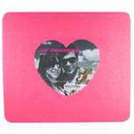 Foto muismat glitter pink