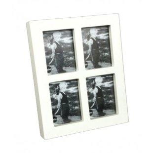 Fotolijst collage 4 in 1 mini wit