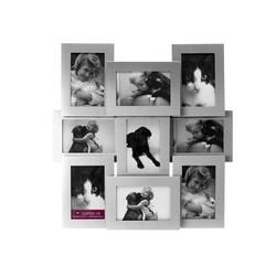 Fotolijst collectie alu matt 9 foto's