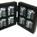 Balvi Fotolijst collage tweeluik 8 in 1 mini zwart