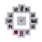 Fotolijst klok Family Time alu
