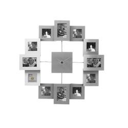 Fotolijst klok family time alu small