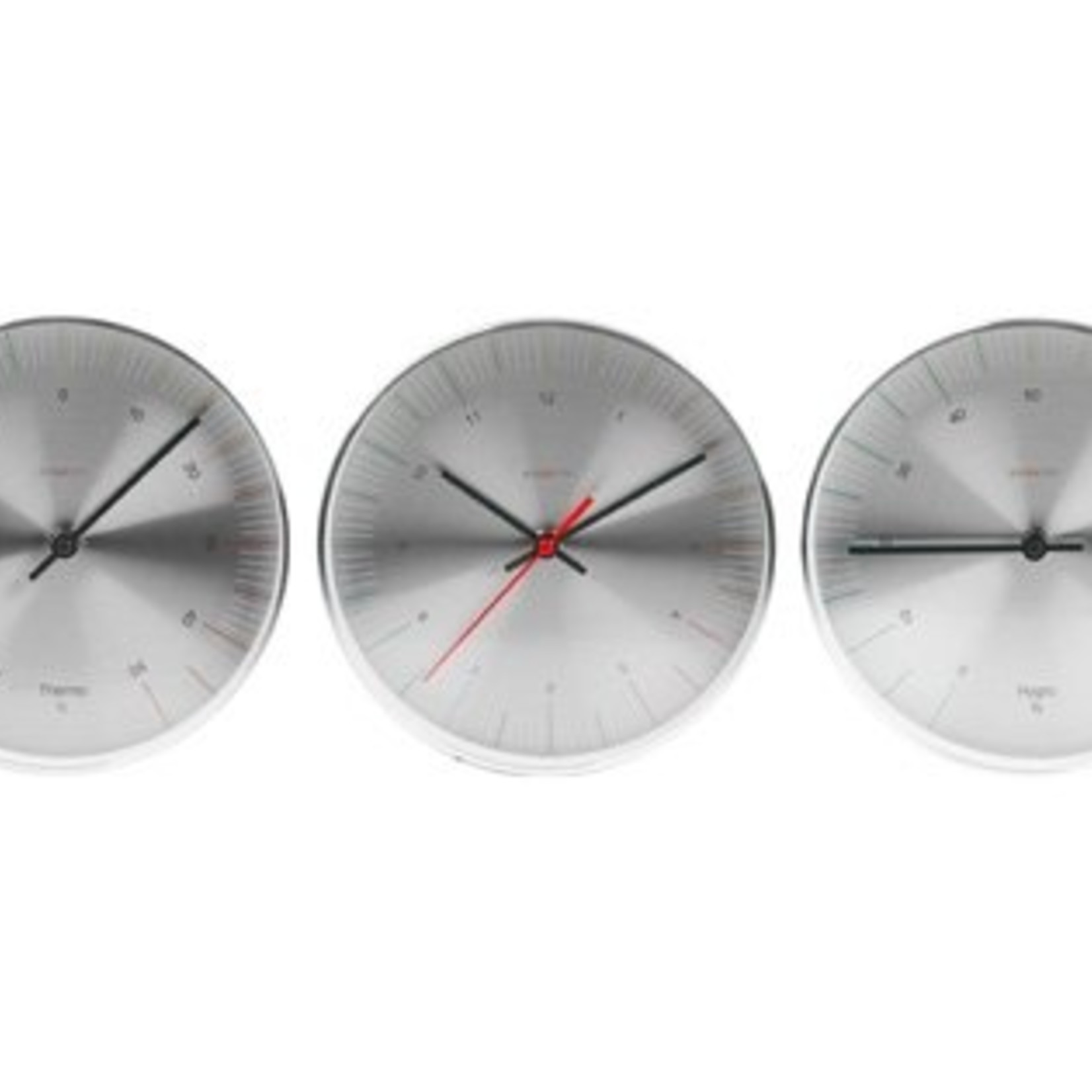 Karlsson Mooi design weerstation bestaand uit een klok, thermo en hygrometer
