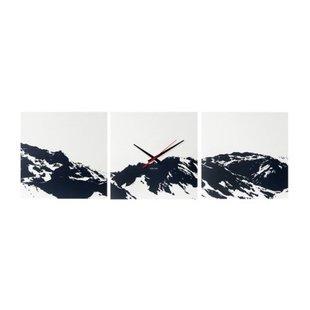 Wandklok Alps Skyline KA5483