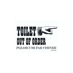 Magneet Toilet Out Of Order
