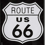 Magneet Route 66