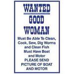 Magneet Wanted Good Woman