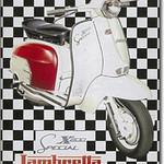 Plaquet Lambretta X200 Special
