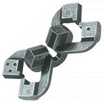 Eureka Cast puzzel Chain******