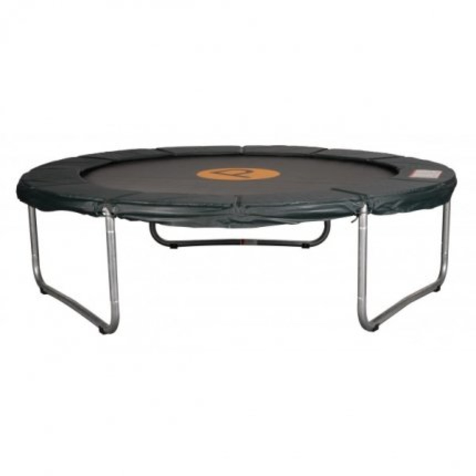 Avyna Een standaard trampoline met een zéér goede prijs/kwaliteit verhouding.Doorsnee 245cm en 60cm hoog.