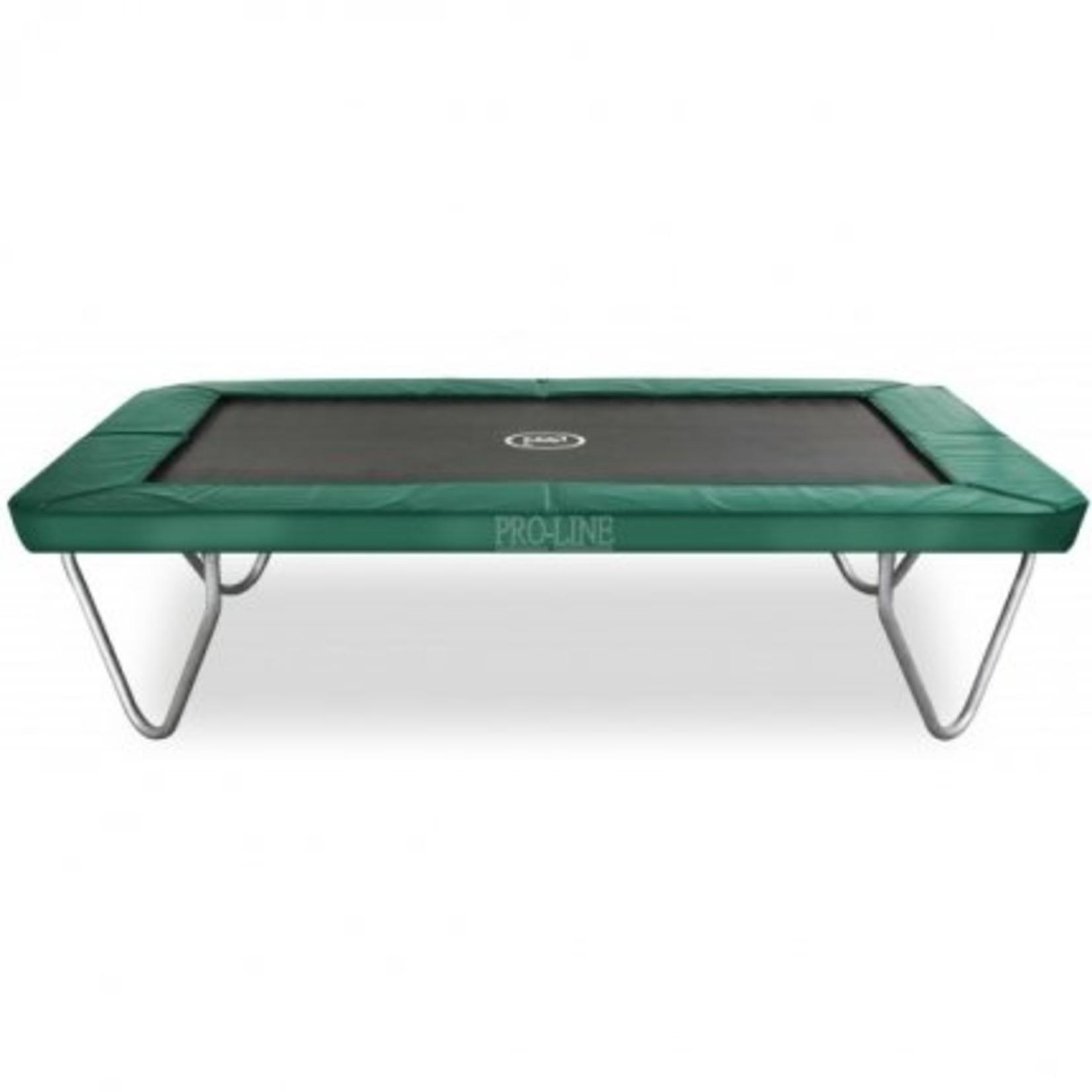Avyna Top kwaliteit trampoline, die zeer veilig is en onderhoudsvriendelijk.Formaat:380x255x86cm.