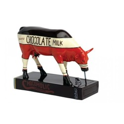 Cowparade Medium resin Chocoholic