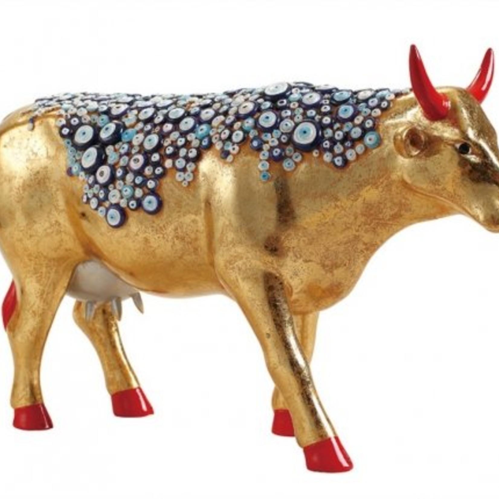 Cowparade CowParade Large The Evil Eye Cow (aka Nazar Boncugu)