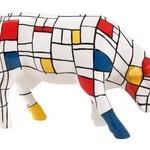 Cowparade Cowparade Medium Ceramic Moondriaan