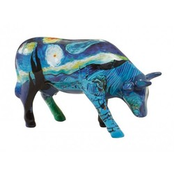 Cowparade Medium Ceramic Vincent's Cow