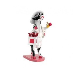Cowparade Medium Resin Alphadite Goddess of Shopping