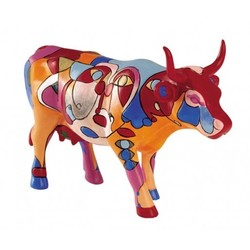 Cowparade Medium Resin Picowsso