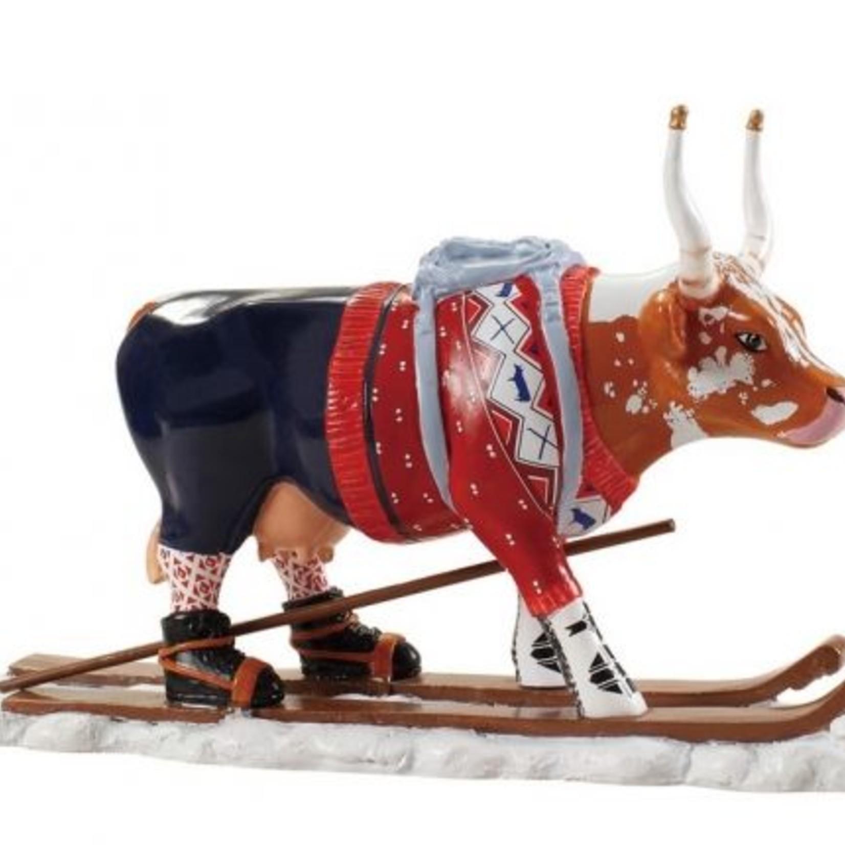 Cowparade Cowparade Medium Resin The Ski Cow