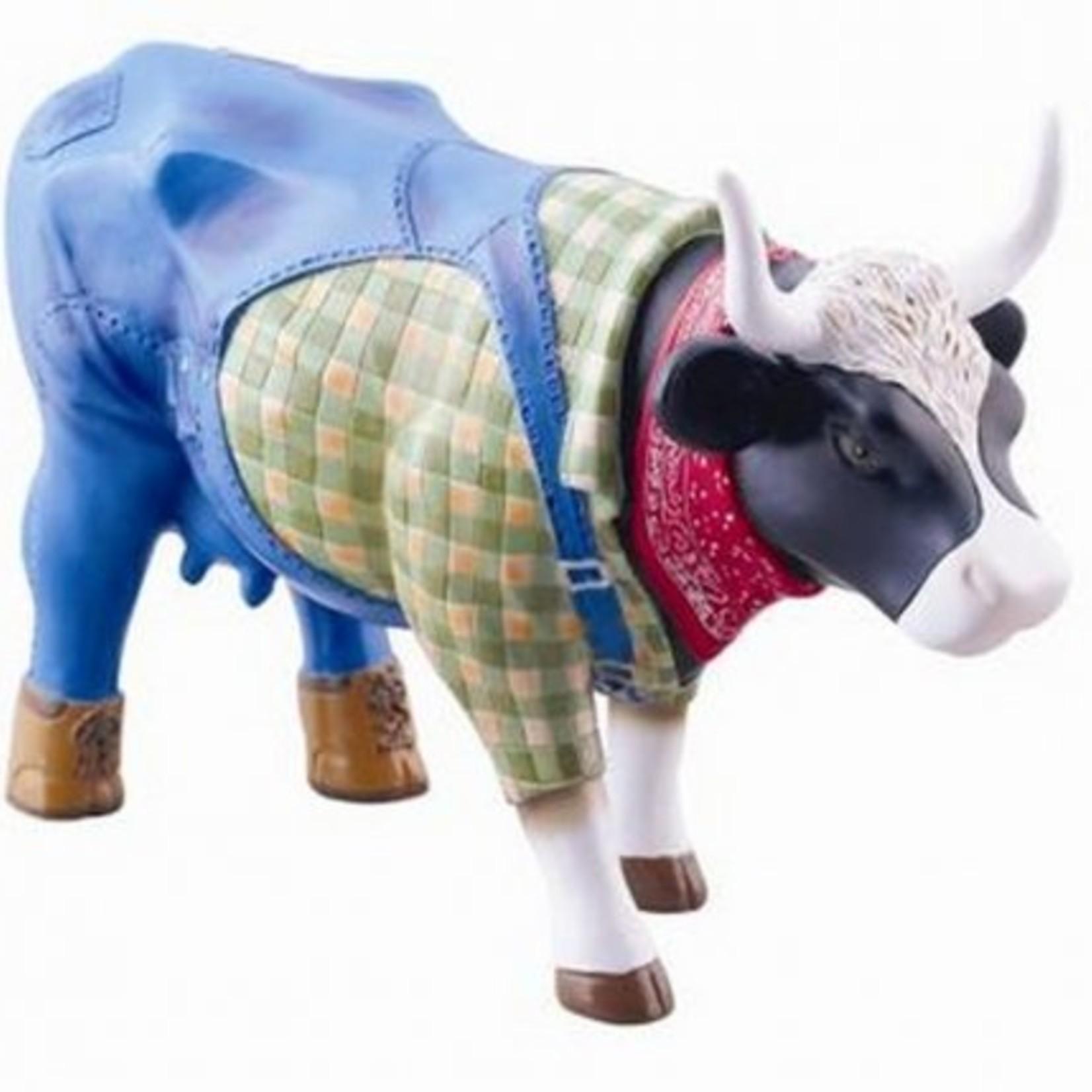 Cowparade Cowparade Medium Resin Farmer Cow
