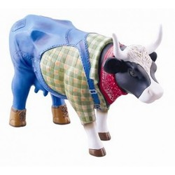 Cowparade Medium Resin Farmer Cow