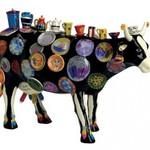 Cowparade Cowparade Medium Resin The Moo Potter