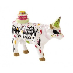 Cowparade Small Happy Birthday to Moo