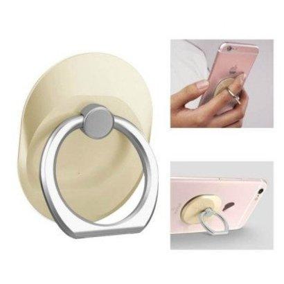 Mobiele telefoon houder tablet standaard Style ring vinger ring beugel mat goud