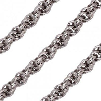 Quoins Quoins armband edelstaal QK-S1-E met slot 20cm
