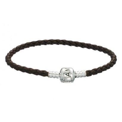 Amora Armband ABAL-Bruin enkel