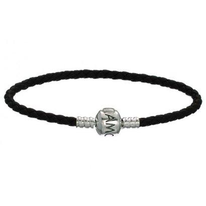 Amora Armband ABAL-Zwart enkel