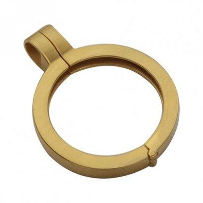 Quoins Quoins hanger QHO-07-MG  gold gematteerd