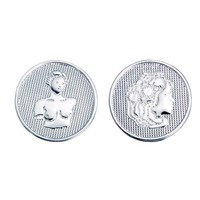 Quoins Quoins QMOG-008 silver plated