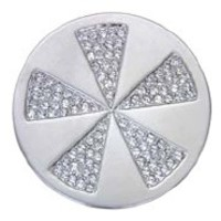 Quoins Quoins Jewelz silver plated QMOA-02