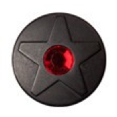 Babouche Baboos Babouche Baboos Drukker Black Star rood