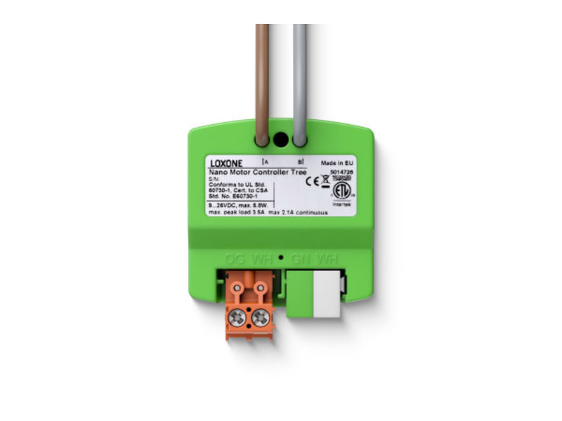 Loxone Nano Motor Controller Tree
