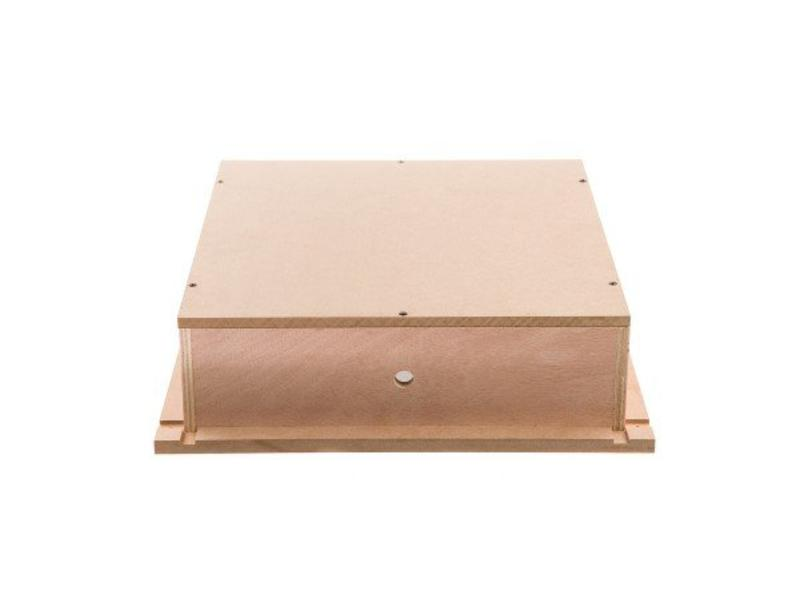 Loxone Speaker back box hout / gips