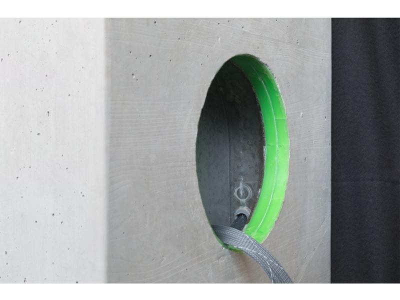Loxone Speaker back box beton