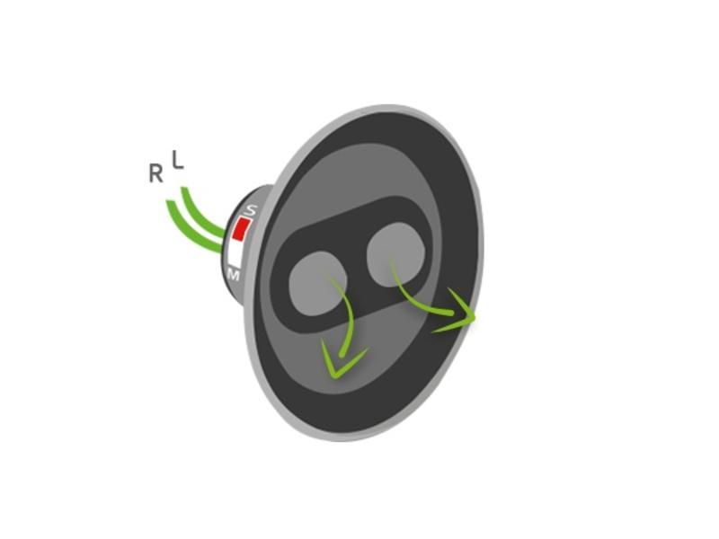 Loxone Speaker inbouw