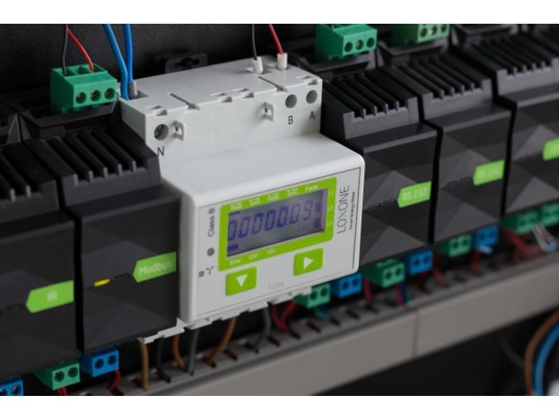 Loxone Modbus Elektriciteits Meter (3 Fase)