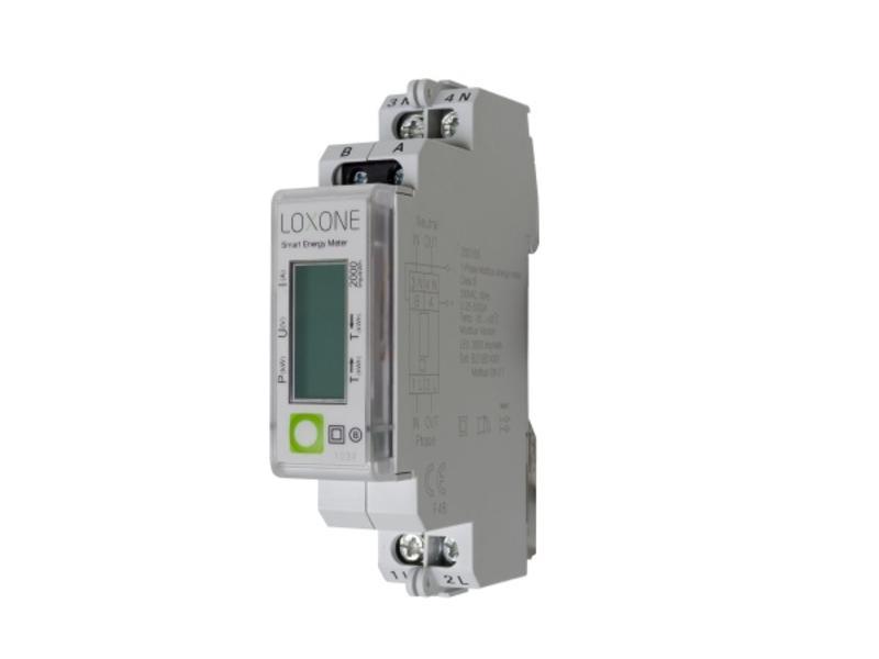 Loxone Modbus Energiemeter (1 Fase)