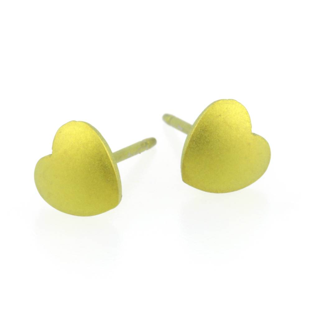 Naisz Titanium Design Heart Yellow 2017348-52