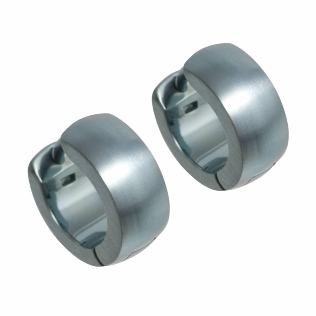 Titanium Design Earring 12mm x 5mm 2017327-40