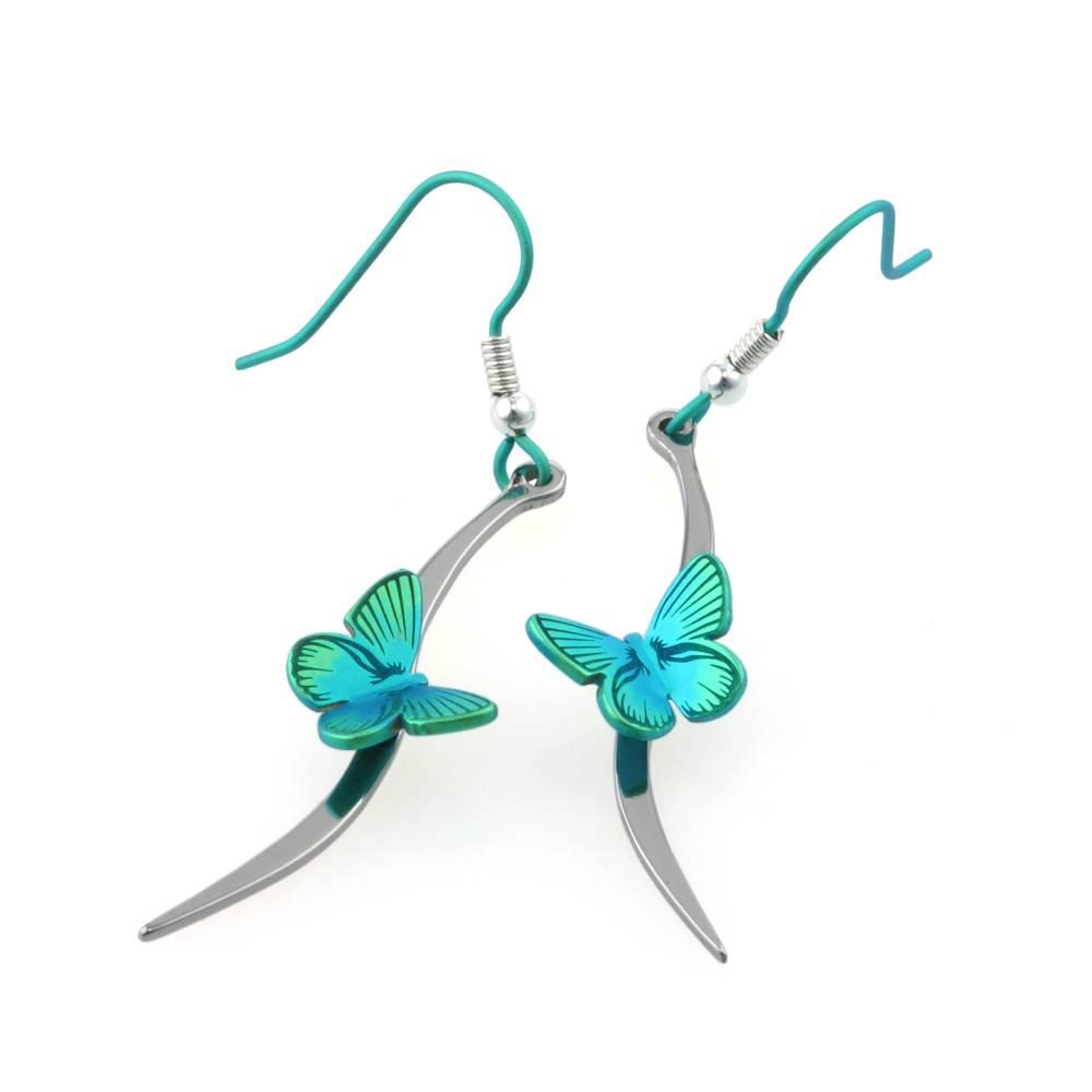 Naisz Titanium Design Butterfly 2017479-Green