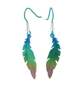 Naisz Titanium Design Feather 2017473-GREEN