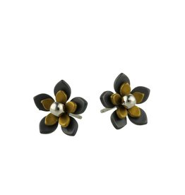 Naisz Titanium Design Flowers Black 2017349-63 - Copy