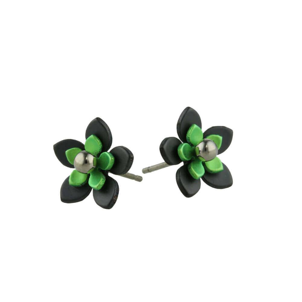 Naisz Titanium Design Flowers Black 2017349-63 - Copy - Copy